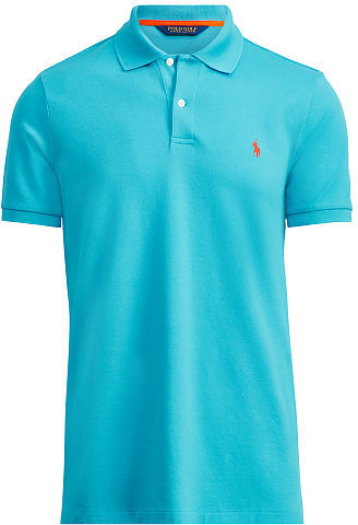 Ralph Lauren Custom-Fit Stretch Mesh Polo