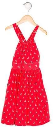 Polo Ralph Lauren Girls' Printed A-Line Dress