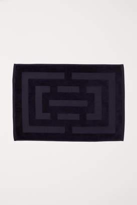 H&M Jacquard-weave Bath Mat - Blue