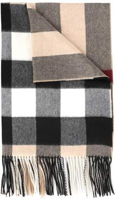 Burberry Oversize Mega Check Scarf