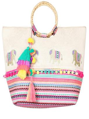Patricia's Presents Elephant Embellished Handbag