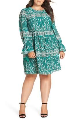 Glamorous Paisley Smock Dress