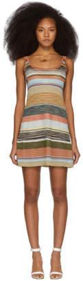 Missoni Multicolor Knit Stripes Dress