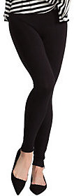 As Is Spanx Seamless Leggings with Side Zip Detail $41 thestylecure.com