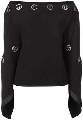 Dion Lee spiral sleeve top