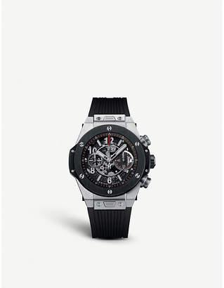 Hublot 411.nm.1170.rx big bang titanium watch
