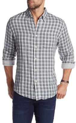 Grayers Boulder Double Cloth Plaid Sport Slim Fit Shirt