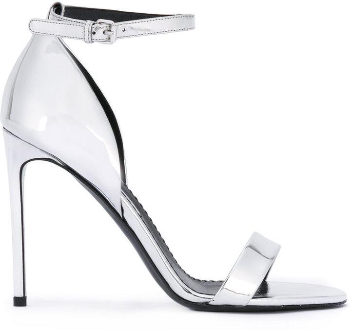 Stella McCartney open toe strap pumps
