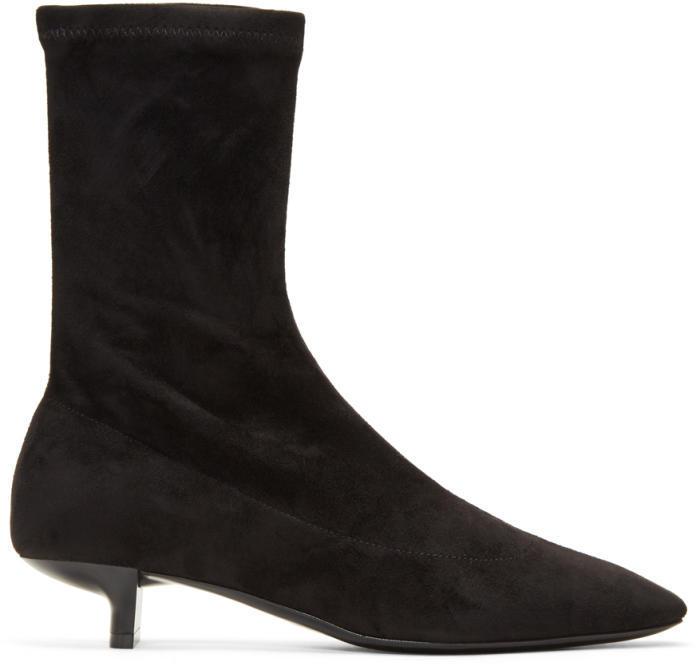 Stella McCartney Black Foster Sock Boots
