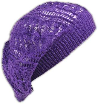 c63bd295a94d9 Jh Sports Womens Fashion Crochet Beanie Hat Knit Beret Skull Cap Tam