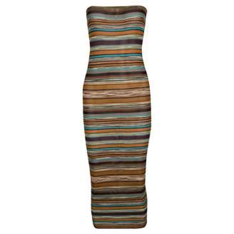 Missoni Metallic Silk Dresses