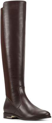 Nine West Leather Low Heel Boots - Levi