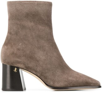 Jimmy Choo Bryelle 65mm square-toe boots