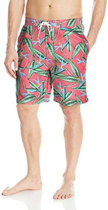 Trunks Men's Swami 8 inch Floral Pattern Swim