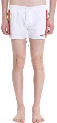 DSQUARED2 White Nylon Swimsuit