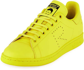 sale retailer 45039 1731f Adidas By Raf Simons Men s Stan Smith Leather Low-Top Sneakers, Yellow