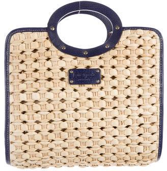 Kate SpadeKate Spade New York Leather-Trimmed Handle Bag