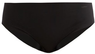 La Perla Second Skin Mid Rise Briefs - Womens - Black