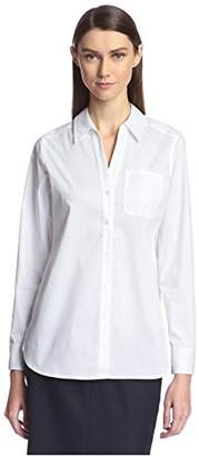 Society New York Women's High Low Shirt