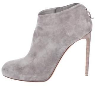 Salvatore Ferragamo Suede Ankle Boots