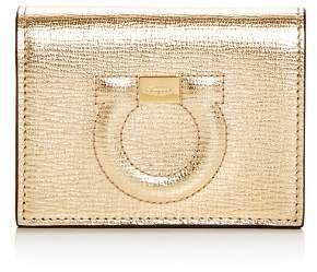 Salvatore Ferragamo City Leather Bi-Fold Card Case