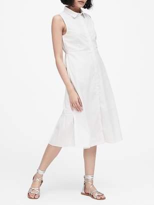 Banana Republic JAPAN EXCLUSIVE Poplin Shirt Dress