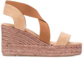 Castaner slip-on wedge sandals