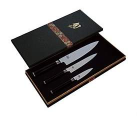 Shun Classic 3 Piece Knife Set