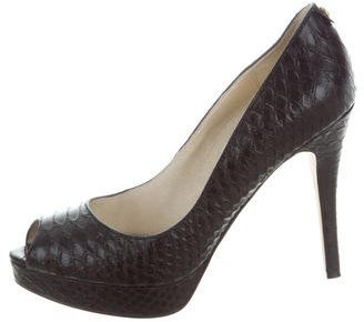 Michael Kors Embossed York Pumps