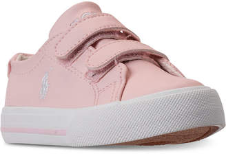 Polo Ralph Lauren Toddler Girls' Slater Ez Casual Sneakers from Finish Line