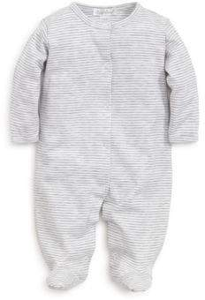 Baby's Kissy Essential Striped Footie