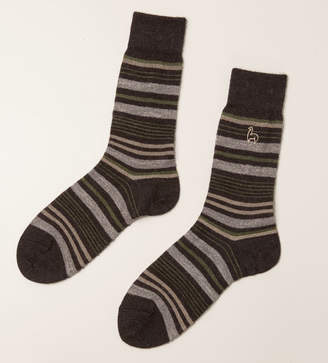 Reformation Shupaca Alpaca Stripe Socks