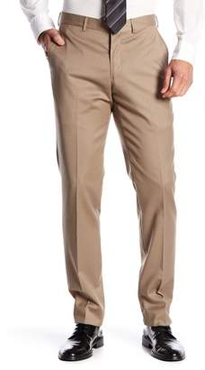 """Nordstrom Tech-Smart Trim Fit Flat Front Trousers - 30-34\"""" Inseam"""