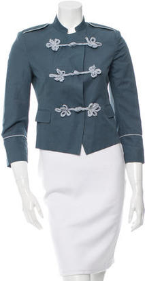Boy. by Band of Outsiders Military Cropped Blazer $125 thestylecure.com