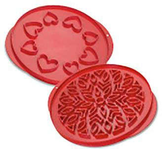 Nordicware Lattice & Hearts Pie Cutter, 12""