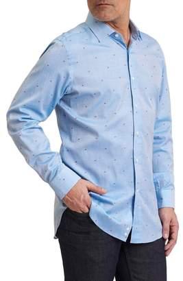 Robert Graham Sweet Lips Regular Fit Embroidered Sport Shirt