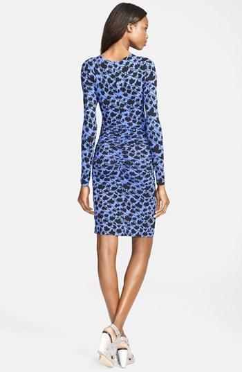 Tracy Reese Long Sleeve Surplice Dress