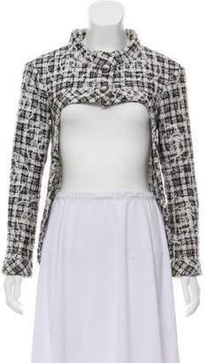 Chanel High-Low Tweed Jacket