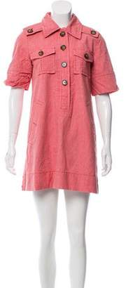Marc by Marc Jacobs Short Sleeve Shirt Dress