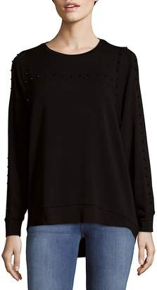 Saks Fifth Avenue Women's Dolman Stud Top