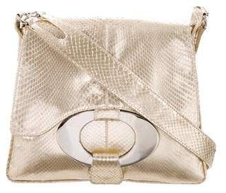 Valentino Snakeskin Shoulder Bag