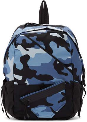 Valentino Blue Garavani New Camo Backpack