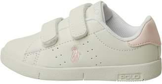 Ralph Lauren Infant Girls Bilton Ez Trainers White/Pink