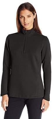 Cutter & Buck Women's Decatur Pima Long Sleeve Half-Zip Pullover