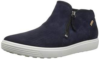 Ecco Women's Women's Soft 7 Low Cut Zip Sneaker