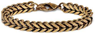 Balenciaga Gold-Tone Chain Bracelet