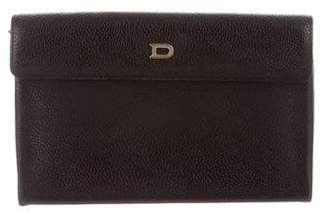 Delvaux Leather Travel Wallet