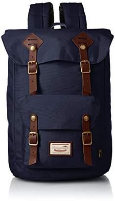 American Vintage (アメリカン ヴィンテージ) - [ドーナツ]Amazon公式 バックパック American Vintage Codura 8077C-0069-F(123104) Navy Navy
