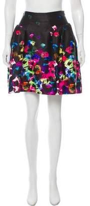 Milly Printed Mini Skirt