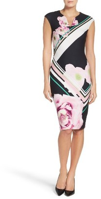 Women's Eci Scuba Sheath Dress $88 thestylecure.com